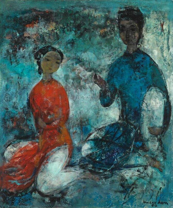 Vũ Cao Đàm (1908-2000), Idylle (idyll)