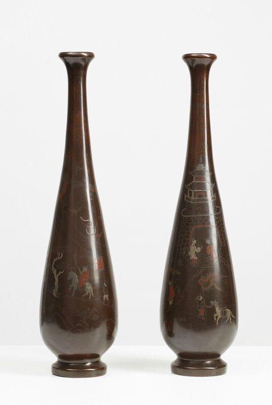 Paire de vases, Vietnam, 19°-début 20°siècle