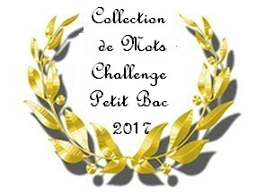 Petit bac 2017 collection de mots