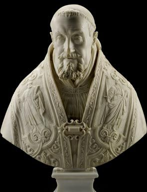 Pope Gregory XV by Gian Lorenzo Bernini in 1621