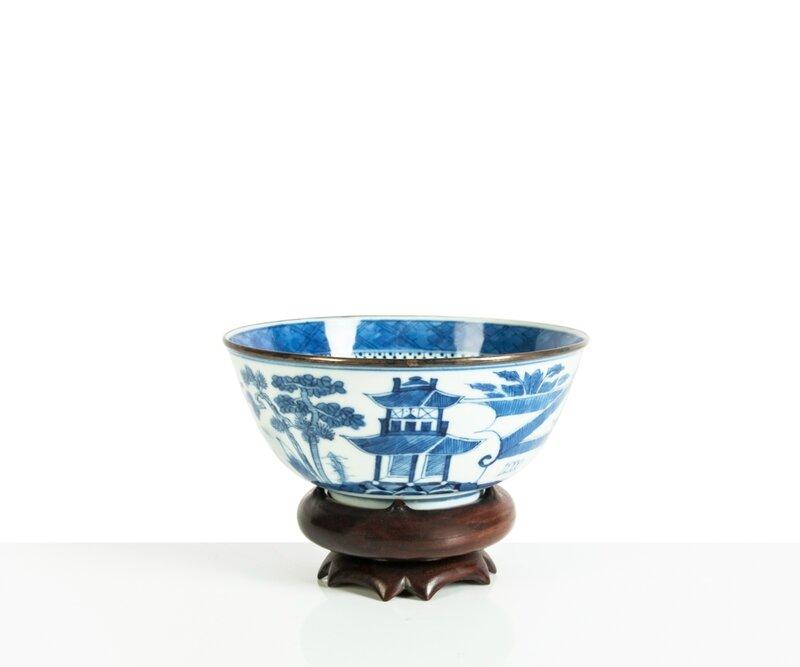 Bol en porcelaine bleu et blanc, Vietnam, Huê, XIXe siècle