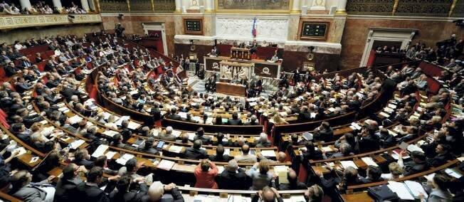 Assemblée nationale, bancs PS