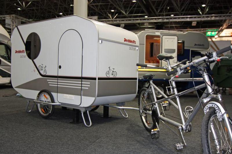 Une Caravane Pour Vlo Une Vraie Remorques De Vlo
