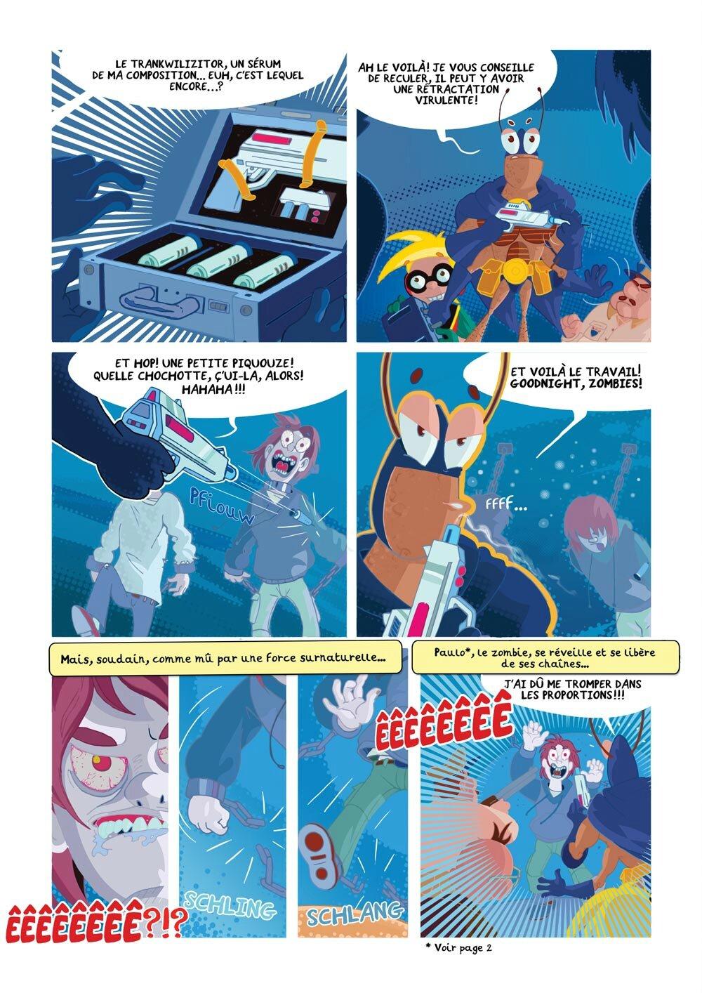 Blateman et Bobine -Tarek/Vhenin (Tartamudo éditions)