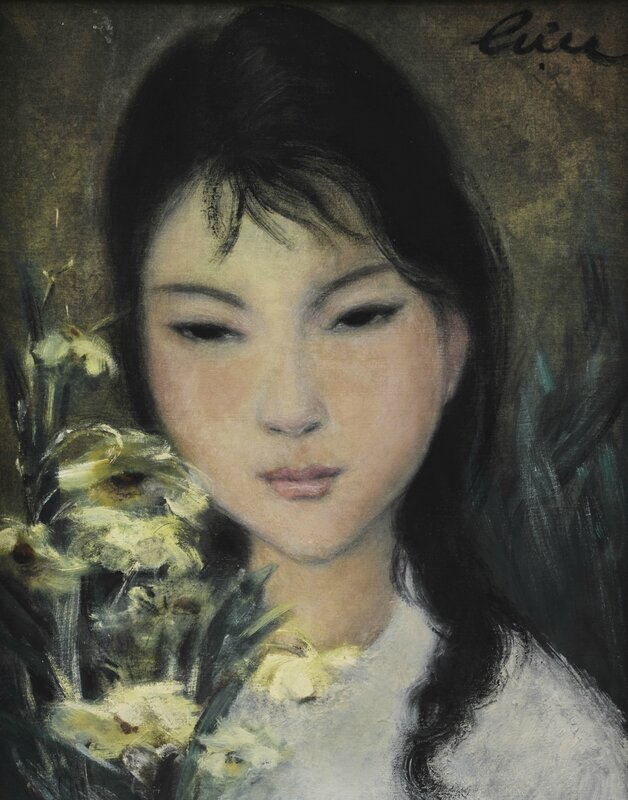 Lê Thị Lựu (1911-1988), Girl with Flower