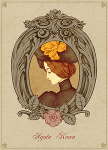 Agata_Kawa_Portrait_de_Lady_M