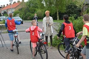 Eerste dag praktijkexamen fiets