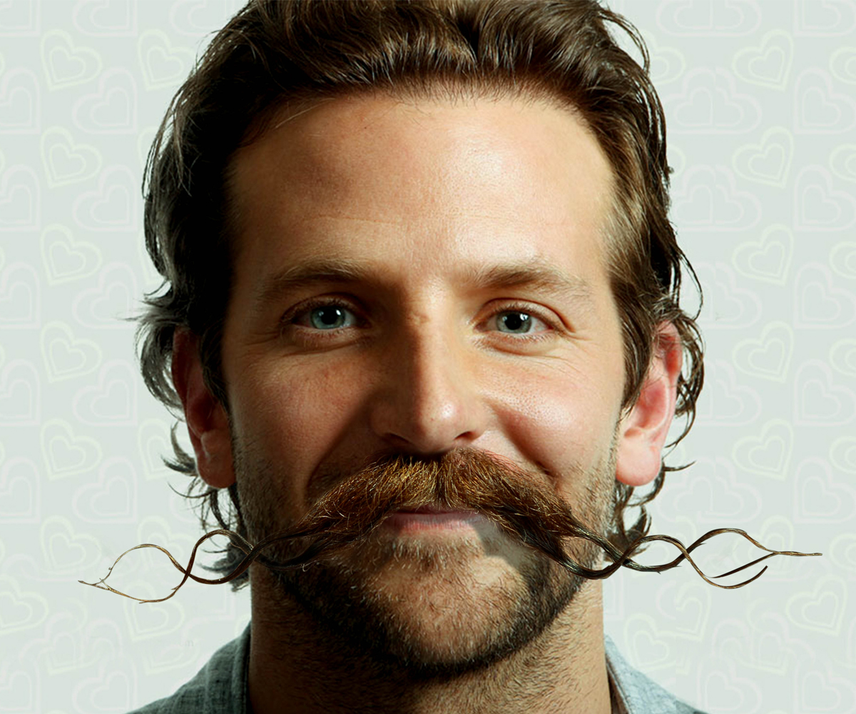 Popular Celebrities Photoshopped With Funny Facial Hair