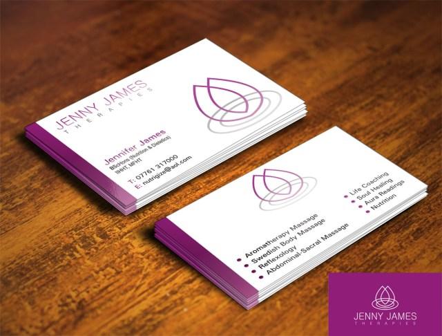 Business Card Design design for Jennifer James, a company ...