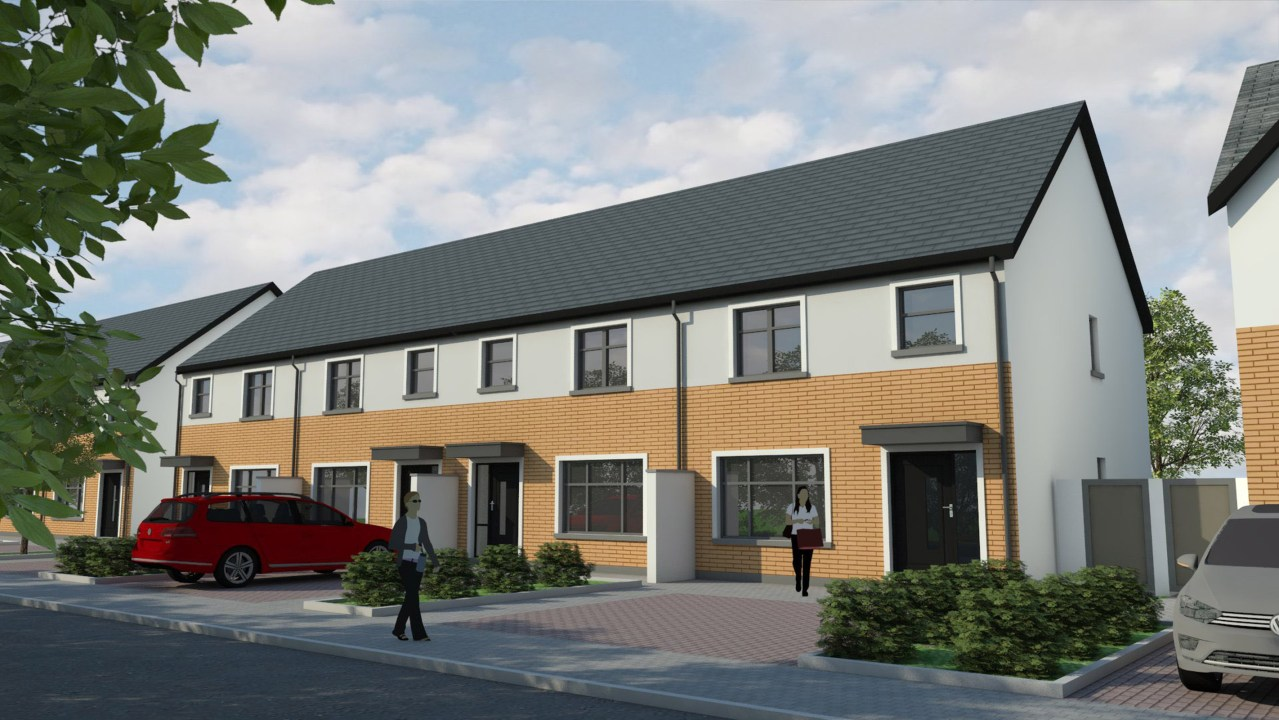 6 THE ELMS – A20 – HOUSE TYPE – 3 Bed Townhouse, 'Janeville', Carrigaline, Co. Cork