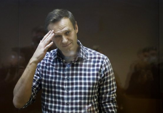 The health of Russian opposition leader Navalny worsens in prison