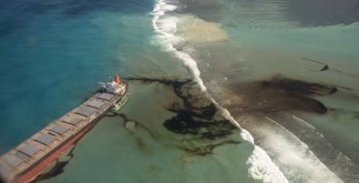 Mauritius Races to Contain Oil Spill After Japanese Ship Ran Aground