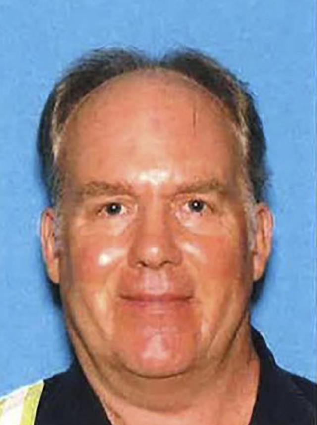 This undated photo provided by the Santa Clara County Sheriff's Office shows Samuel Cassidy, 57, the suspect in the Wednesday, May 26, 2021, shooting at a San Jose rail station. Cassidy killed nine people at the rail yard where he worked. (Santa Clara County Sheriff's Office via AP)