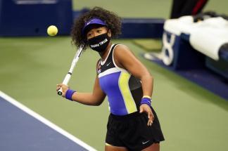 Naomi Osaka Wears Masks Honoring Slain Black Men and Women, Families of Trayvon Martin, Ahmaud Arbery Thank her