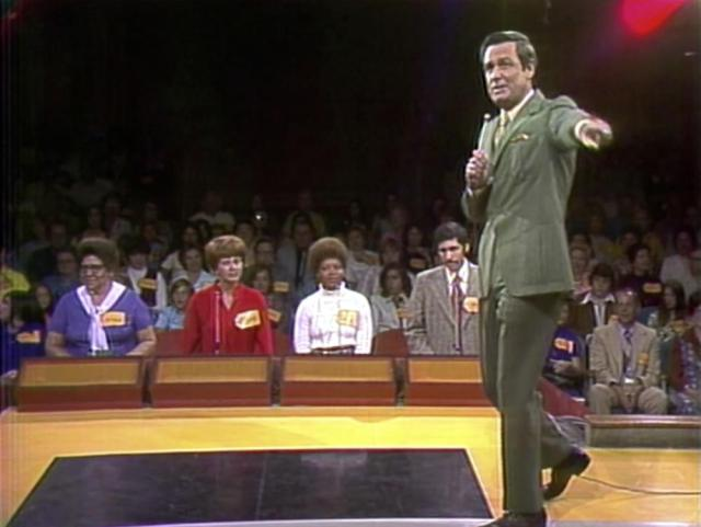 """This image released by CBS shows host Bob Barkers on first episode of """"The Price os Right"""" in Los Angeles. The longest-running game show in television history is celebrating it's 50th season. (CBS Entertainment via AP)"""