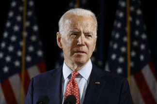 Joe Biden overwhelmingly won a Democratic presidential primary in Kansas that the state conducted exclusively by mail because of the coronavirus pandemic