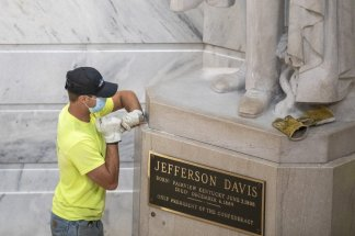 Confederate President Jefferson Davis to be removed from Kentucky's Capitol, adding to the global push to remove symbols of racism and slavery