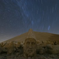 Sunset on Turkey's massive stone heads; Emrah Gurel; AP