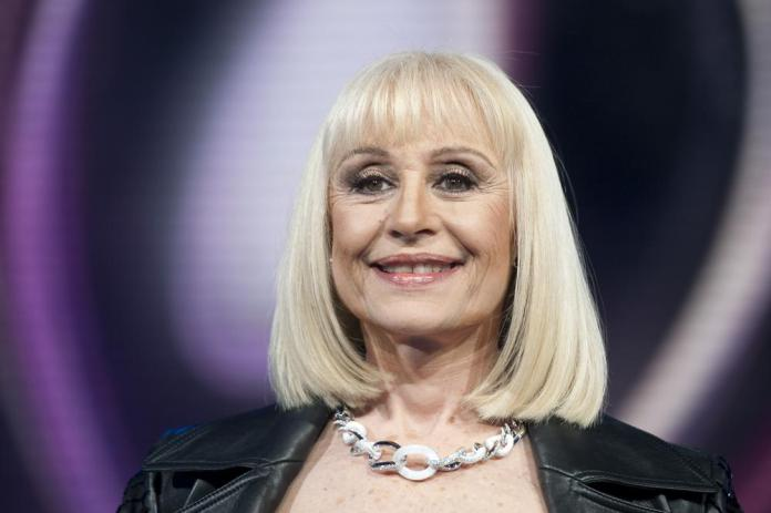Raffaella Carra' is shown in this May 14, 2011 photo. Italian Rai state TV says Raffaella Carra', for decades one of Rai's most popular entertainers, has died. It quoted the star's family as saying she died on Monday, July 5, 2021 after a long illness but in keeping with her wishes no details were being released. Carra', 78, with her energetic prancing on stage and forceful singing voice, was a beloved, longtime staple in the early heyday decades of the state broadcaster. (Virginia Farneti/LaPresse via AP)