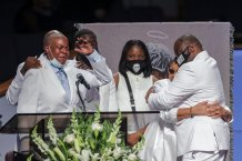 George Floyd's Family Shares Memories, Pain, and Grief in Emotional Homegoing Service