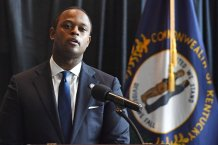 Black attorney general chokes up during Taylor announcement