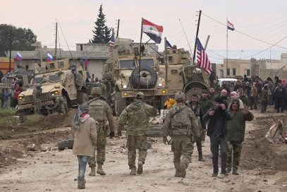 US troops clash with pro-government group in northeast Syria