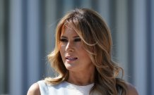 Melania Trump taking Rose Garden turn to pitch her husband
