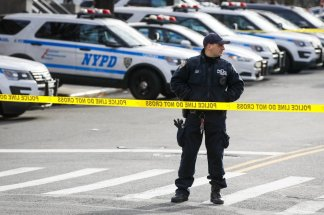 Outrage after gunman ambushes NYC police twice in 12 hours