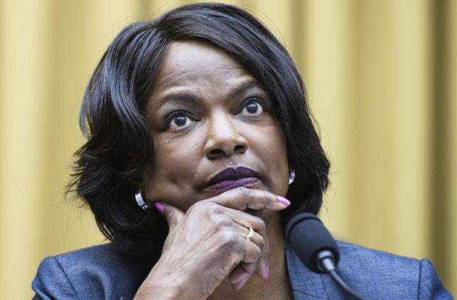 FILE - In this July 29, 2020 file photo, Rep. Val Demings, D, Fla., speaks during a House Judiciary subcommittee hearing on antitrust on Capitol Hill in Washington. Demings is launching a bid to oust Florida's Marco Rubio from the U.S. Senate, giving Florida Democrats hope of changing its fortunes at the ballot box. The Orlando congresswoman used a video on social media to begin introducing herself to a wider audience. (Mandel Ngan/Pool via AP)