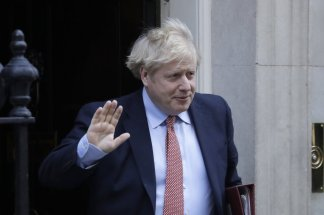 Britain's prime minister Boris Johnson tested positive for virus