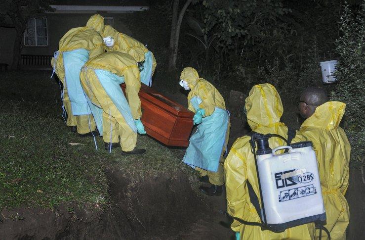 Ebola Virus Cases Skyrocket. 9
