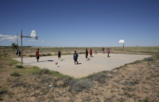 Native Americans are faced with life without basketball now and for the foreseeable future