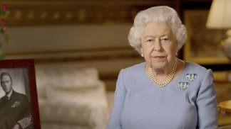 Queen Elizabeth II brought the U.K.'s commemorations to an end with a televised broadcast to the nation