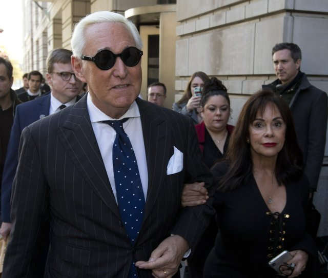 Feds Seek  Years In Prison For Trump Ally Roger Stone