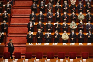 """Members of the Chinese People's Political Consultative Conference would """"tell the world about how China, as a responsible major country, has taken firm action and contributed to international cooperation in the fight against the COVID-19 epidemic"""""""