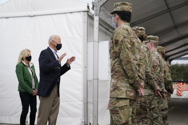 Biden: Strikes in Syria sent warning to Iran to 'be careful'
