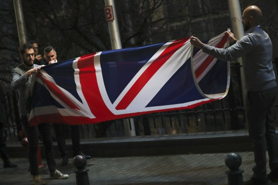 And now for the British economy with the UK-EU trade agreement reached?