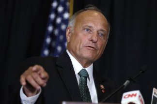 Rep. Steve King's past of making racially-charged statements about immigrants and white supremacy has returned to haunt him