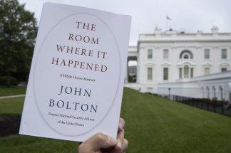 "PDF version of John Bolton's memoir ""The Room Where It Happened"" has turned up on the internet"