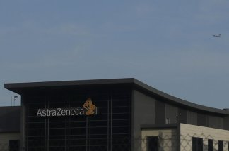 Drug maker AstraZeneca reports it receives over one million dollars for the development, production and delivery of the vaccine