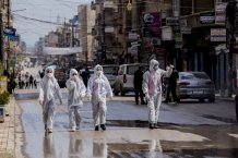 The Norwegian Refugee Council  said closures aimed at containing the coronavirus pandemic are preventing it from reaching the 300,000 people in conflict zones across the Middle East