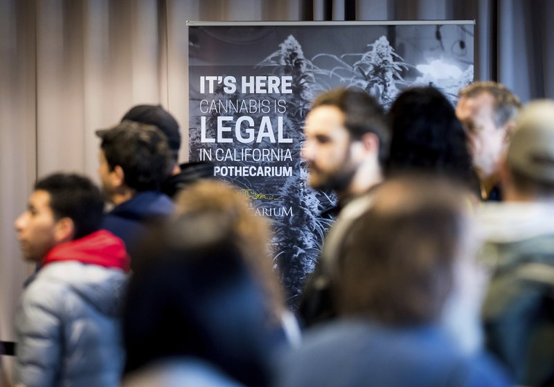 Indústria legal de maconha brinda ano de sucesso