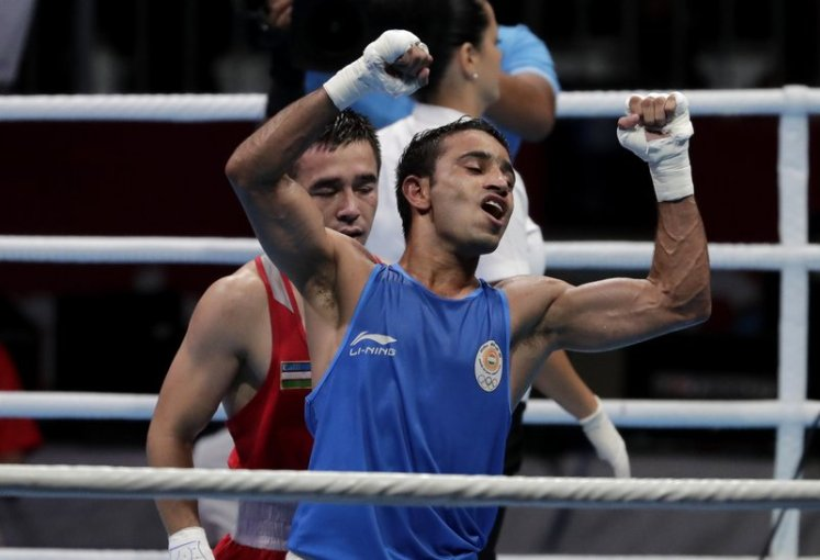 India s Amit Panghal wins surprise Asian Games boxing gold None