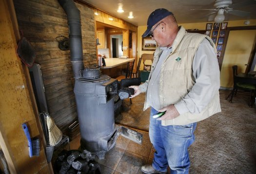 Image result for navajo burning coal for heat