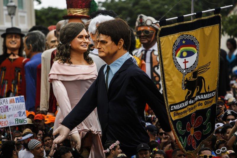 Image result for mocking bolsonaro at carnival