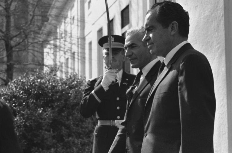 Richard Nixon, Mohammad Reza Pahlavi