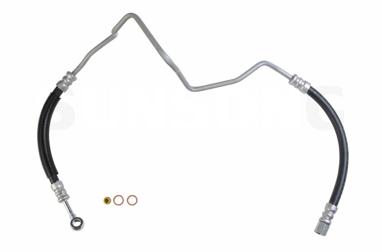 Toyota Tercel Steering Pressure Line Hose Assembly