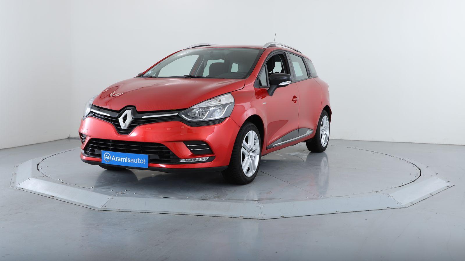 Renault Clio 4 Estate Break 5 Portes Essence 0 9 Tce 90 Bvm5 Boite Manuelle Finition Limited Rv435849 Aramisauto