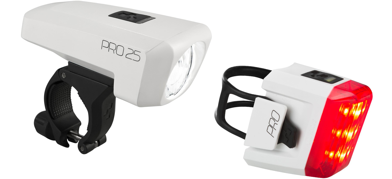 Cube Beleuchtungsset Pro 25 Fahrradbeleuchtung Licht Zubehor