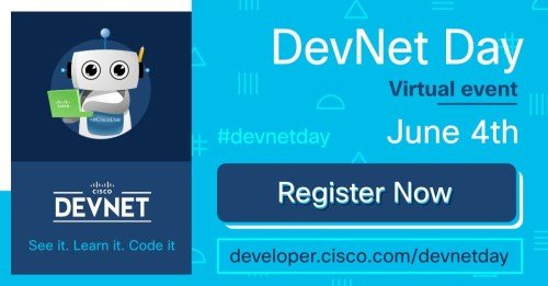 DevNet Day banner